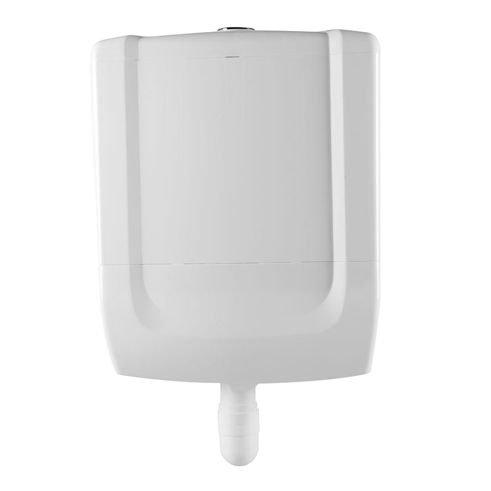 Caixa Descarga Acoplada Duplo Acionamento - Branco 1 (BR1)
