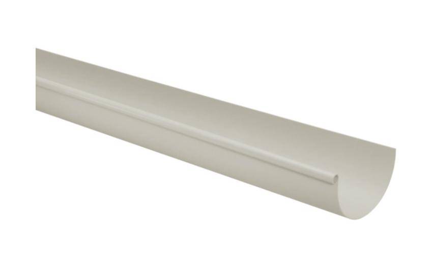 Calha PVC Pluvial 170mm - Cinza (03 metros)