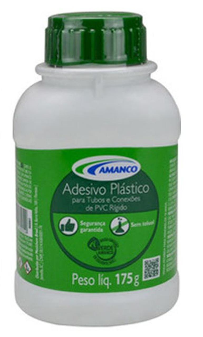 Cola Adesiva Incolor Frasco - 175g com Pincel