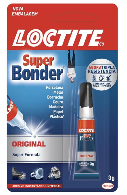 Cola Super Bonder.