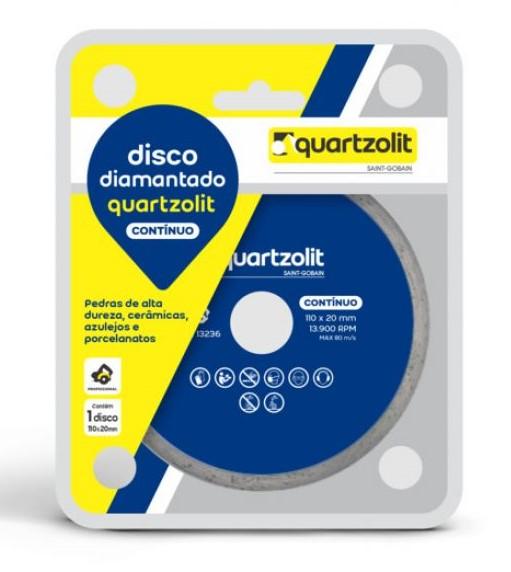 Disco Quartzolit Diamantado Liso 110mm