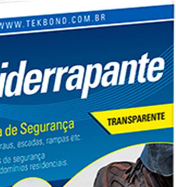 Fita Anti-Derrapante Transparente 50mm X 5mt