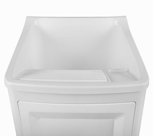 Gabinete Plástico com Tanque Branco