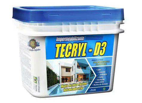 Impermeabilizante Tecryl D3 Branco
