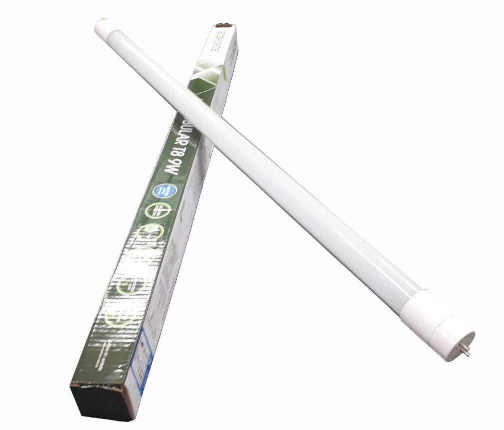 Lampada Eco Force Led Tubular Branca 9W Bivolt