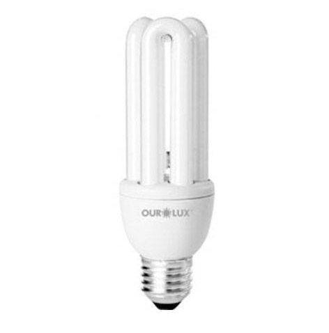 Lampada Ourolux Fluor Luz Branca 11W X 127V (3U)