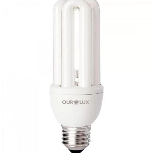 Lampada Ourolux Fluor xLuz Branca 15W X 220V (3U)