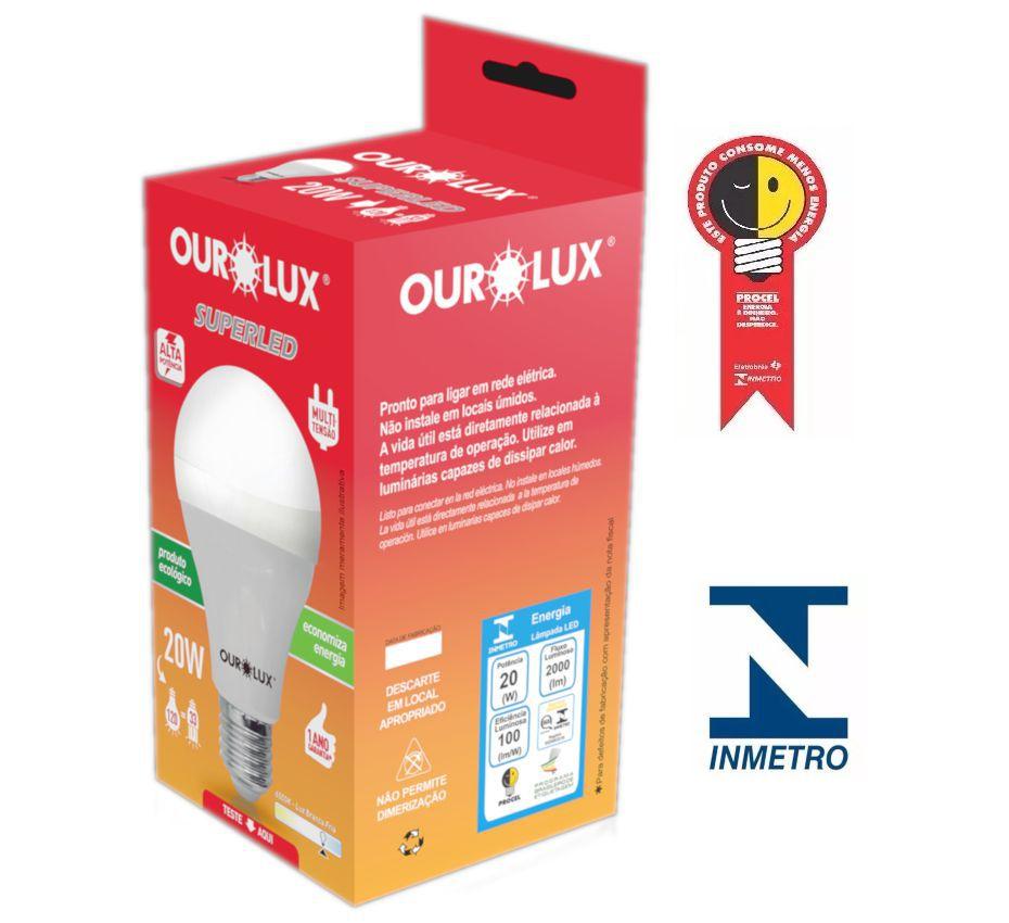 Lampada Ourolux Super Led 20W Bivolt