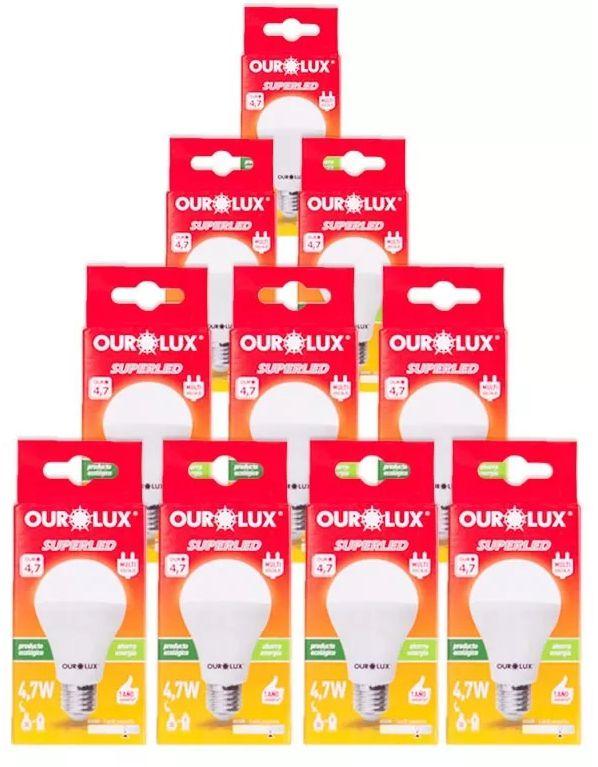 Lampada Ourolux Super Led 4,7W Bivolt