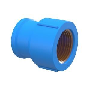Luva Soldavel Azul Bucha Latao PVC