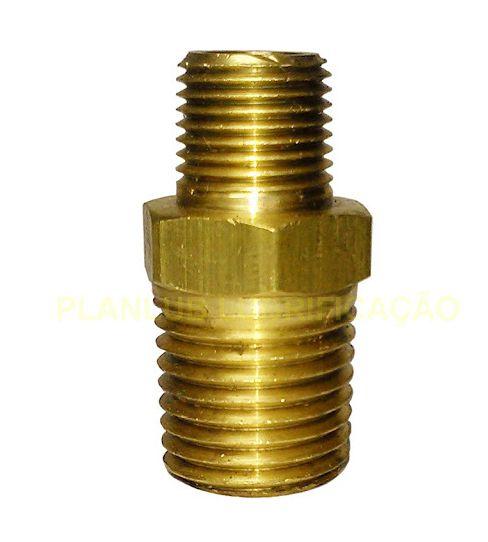 Niple Roscável Reduzido Metal 3/4 x 1/2