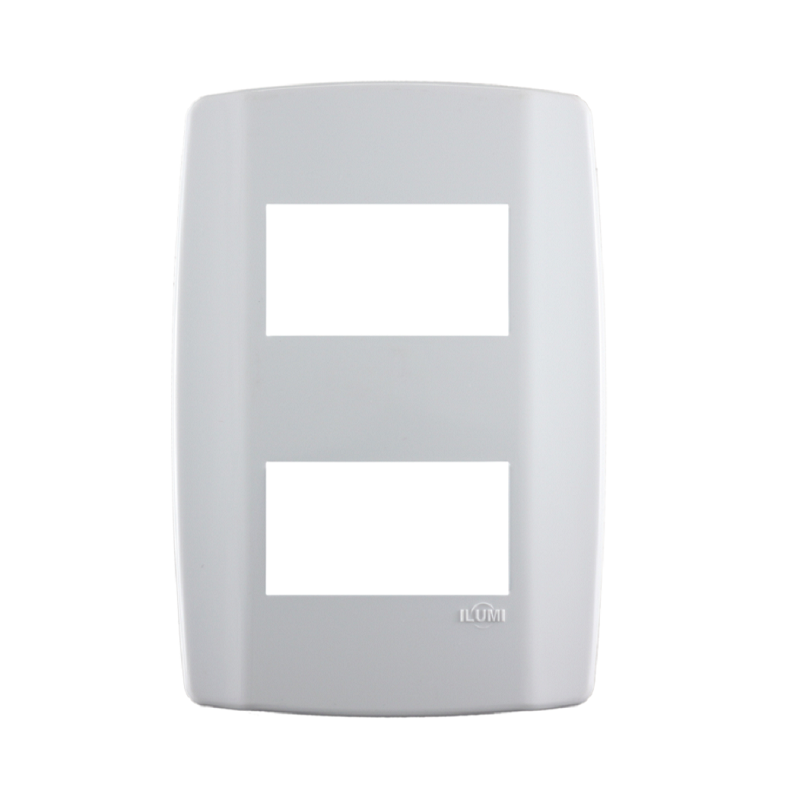 Placa Ilumi Slim 4 X 2 com 2 Elementos Separados - Ref. 8208
