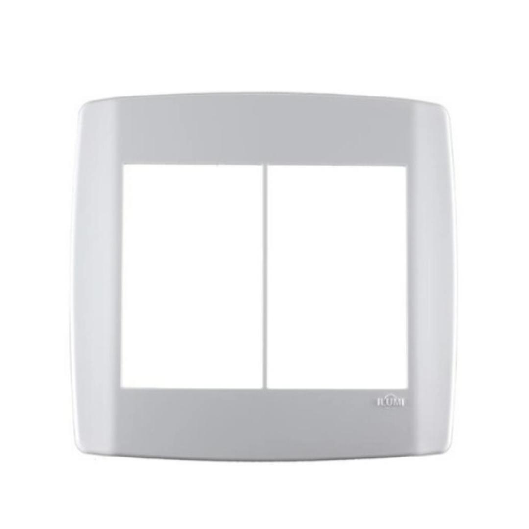 Placa Ilumi Slim 4 X 4 com 6 Elementos Juntos - Ref. 8309