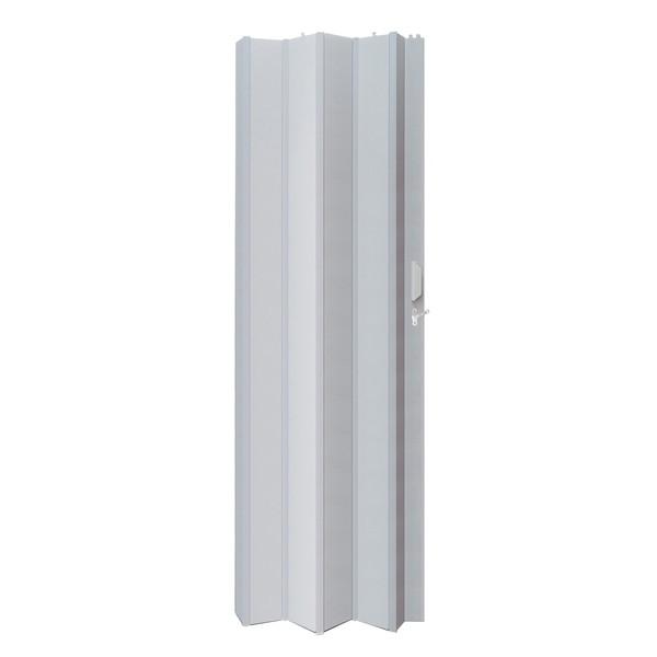 Porta Sanfonada PVC Cinza