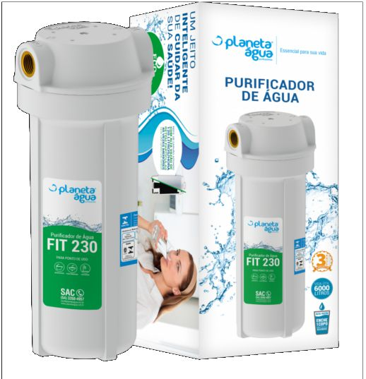 Purificador de Água Fit 230 Branco 9.3/4