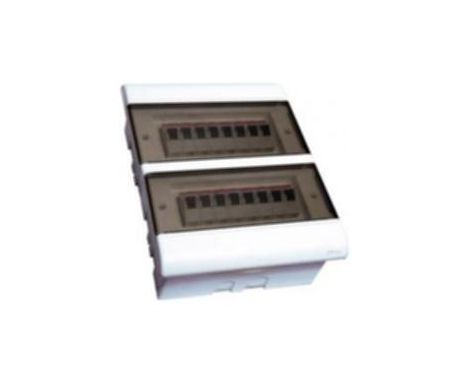 Quadro Distribuição Embutir 16 Disjuntores Din ou 12 Nema sem Barramento