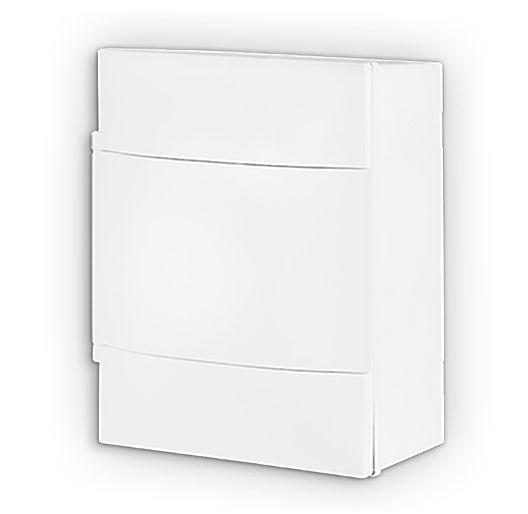 Quadro Distribuição Sobrepor 04 Disjuntores Din sem Barramento