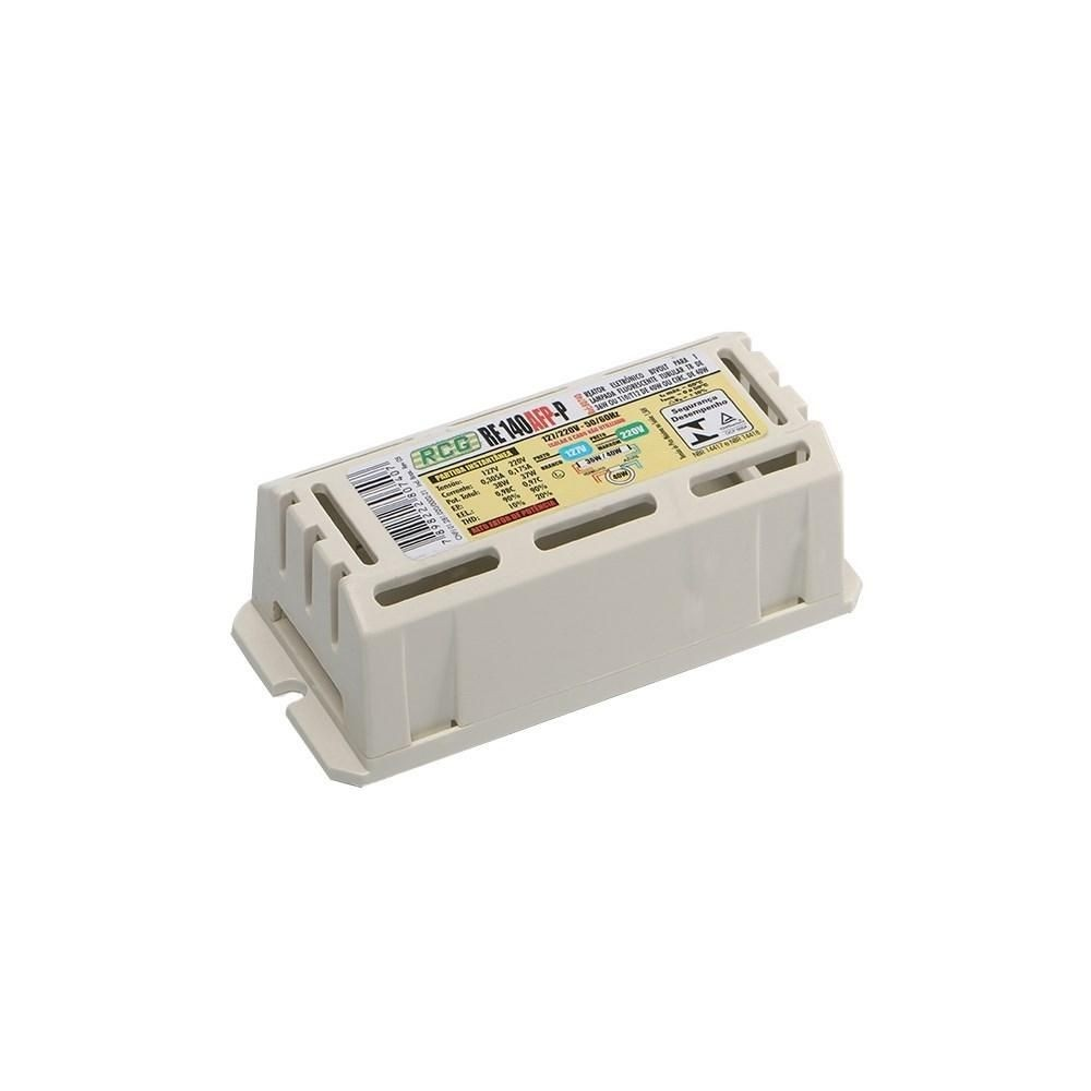 Reator RCG Eletronico 1 X 40W (kit com 10 unidades)