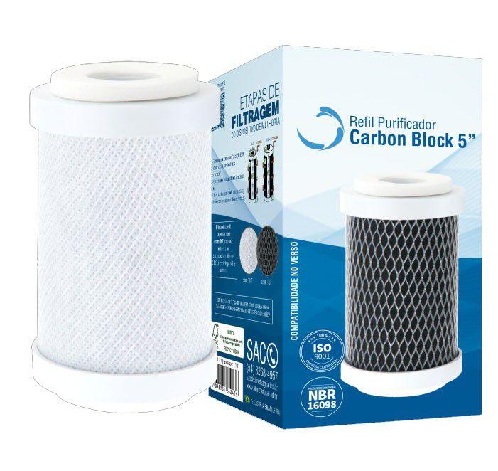 Refil Carbon Block 5