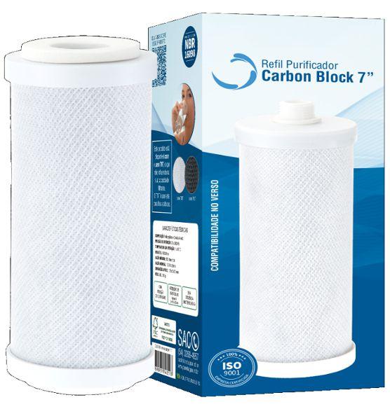 Refil Carbon Block 7