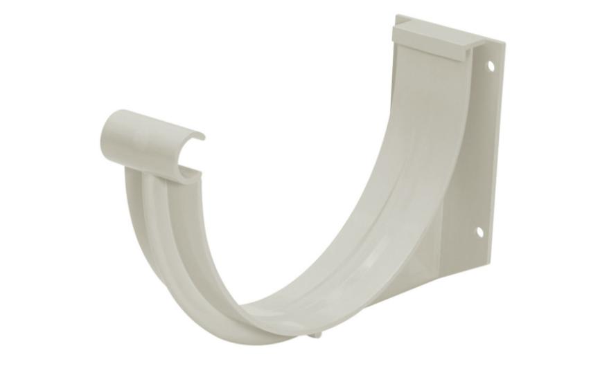 Suporte PVC Pluvial Cinza