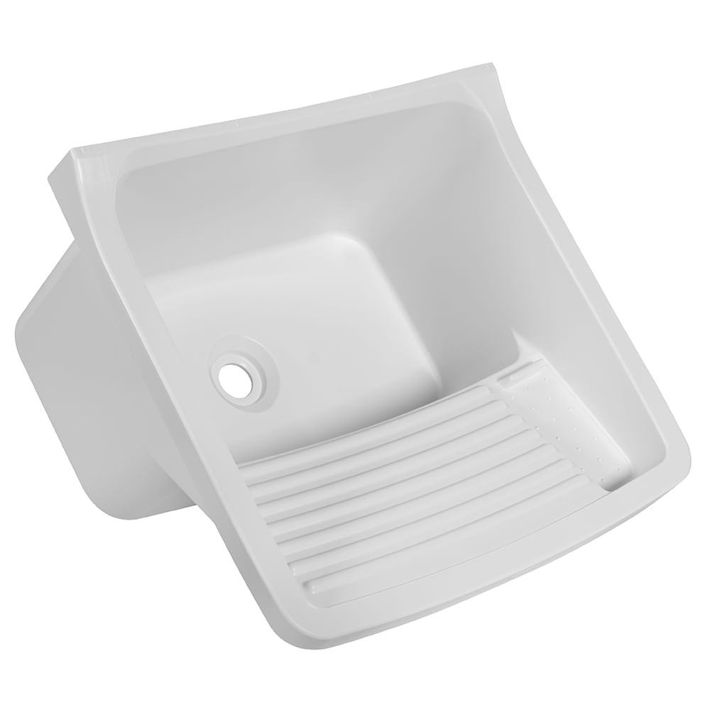 Tanque Plastico Astra 23/40 Litros (58 X 52 X 32cm) - Branco 1 (BR1)