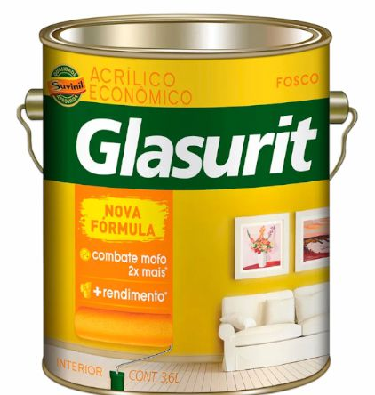 Tinta Glasurit Economica Fosco 3,6L
