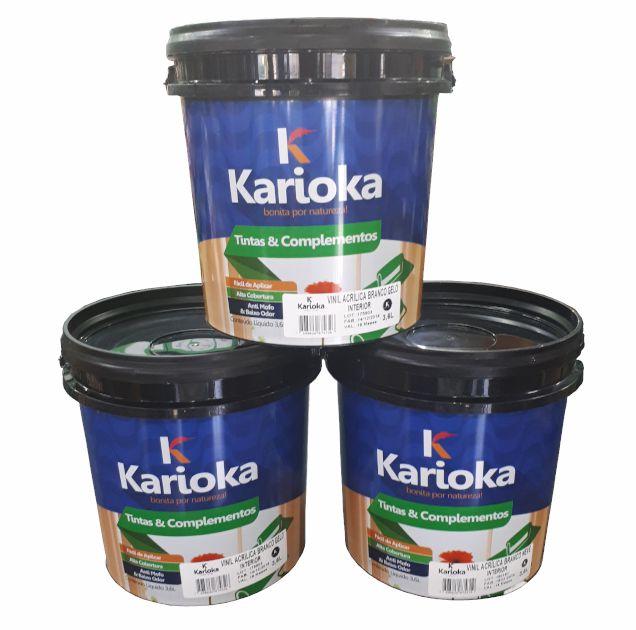 Tinta Karioka Acrilica 3,6L