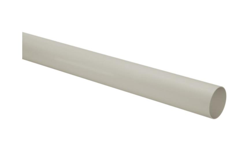 Tubo PVC Pluvial Condutor 100mm - Cinza (03 metros)