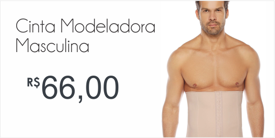cinta modeladora masculina
