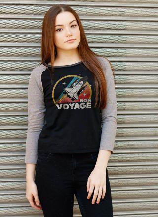 Camiseta Manga Longa Feminina Bon Voyage