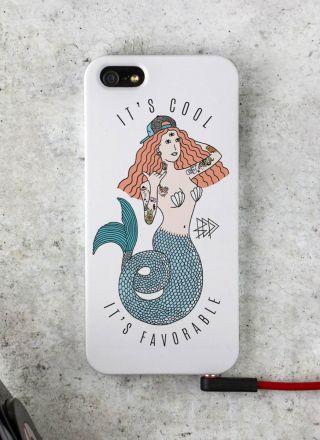 Capa para iPhone 5/5S/SE Thug Mermaid
