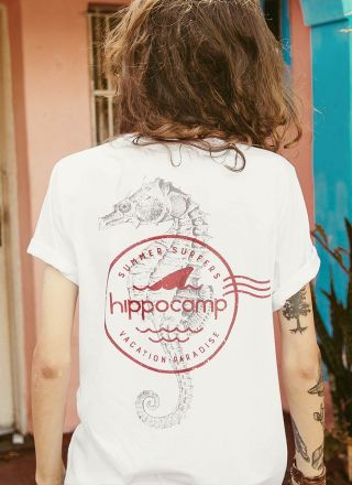 T-shirt Hippocamp