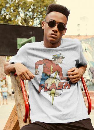 T-shirt The Flash Vintage