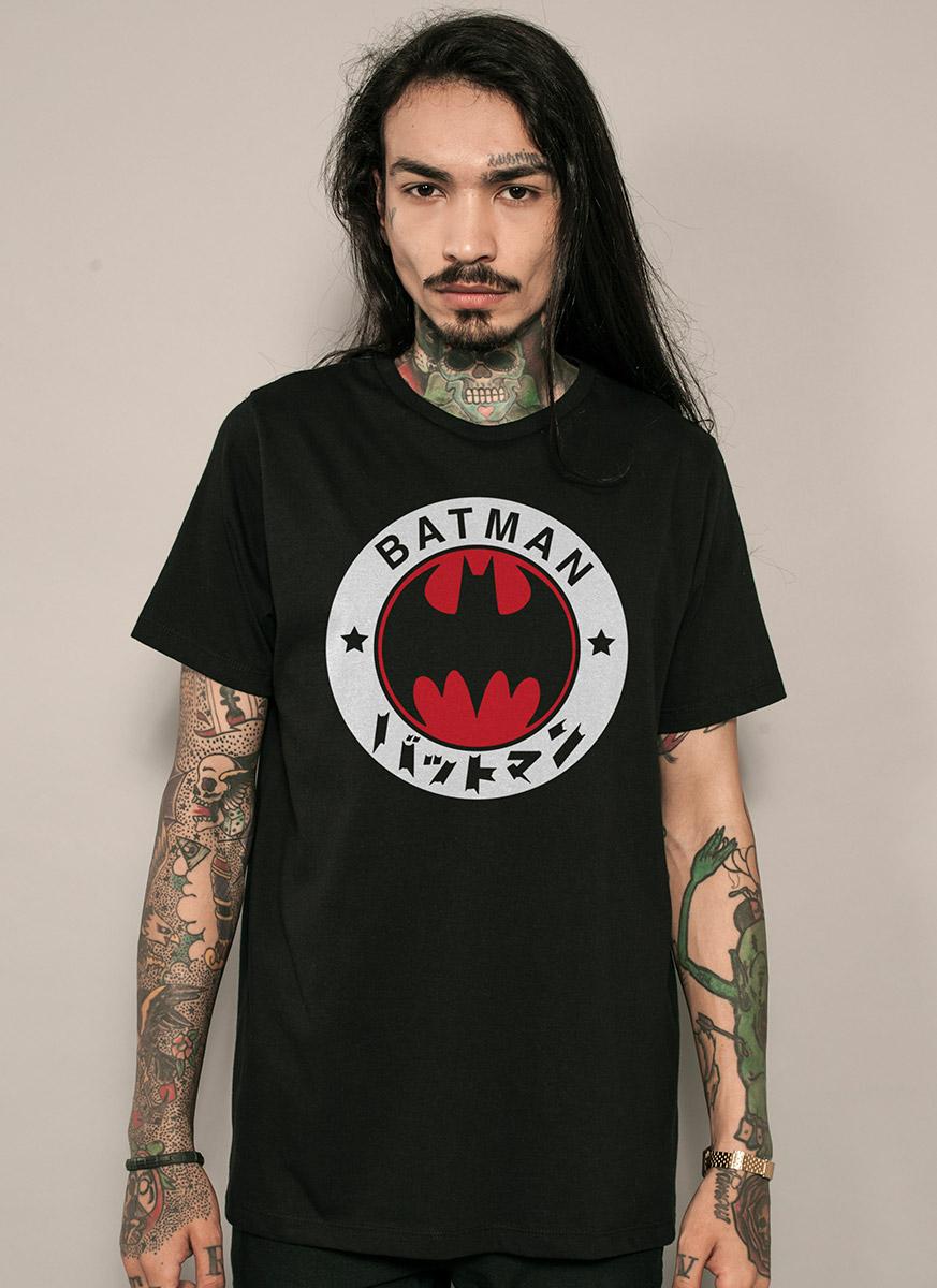 T-shirt Batman Japanese