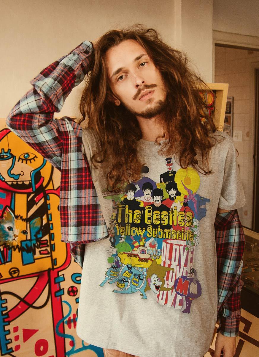 T-shirt The Beatles Yellow Submarine