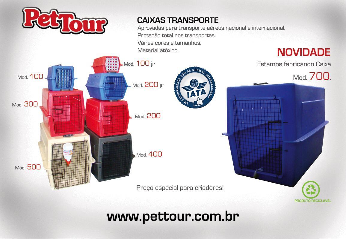 Caixa de Transporte Mod 200 com 3 trincos - Médio