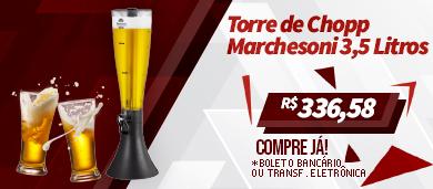 torre de chopp marchesoni 3,5 litros
