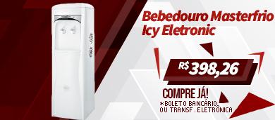 Bebedouro Coluna Masterfrio Icy Eletronic Branco Bivolt