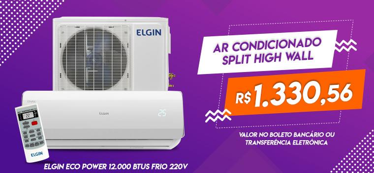 Ar Condicionado Split High Wall Elgin Eco Power 12.000 BTUs Frio 220v