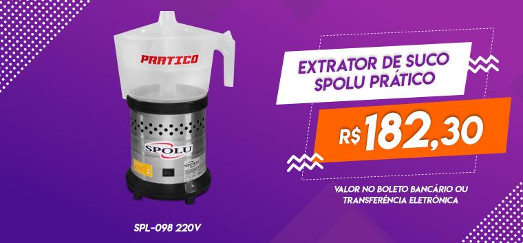 Extrator de Suco Spolu Prático SPL-098 220v
