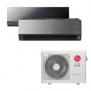 Ar Condicionado Multi Split Inverter LG 18.000 BTUS Quente/Frio 220V +1x High Wall LG Art Cool 12.000 BTUS +1x High Wall LG Art Cool com Display e Wi-Fi 12.000 BTUS