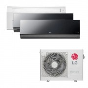 Ar Condicionado Multi Split Inverter LG 24.000 BTUS Quente/Frio 220V +1x Cassete 1 Via LG 12.000 BTUS +2x High Wall LG Art Cool 12.000 BTUS