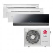 Ar Condicionado Multi Split Inverter LG 24.000 BTUS Quente/Frio 220V +1x Cassete 1 Via LG 9.000 BTUS +1x High Wall LG Art Cool 9.000 BTUS +1x Cassete 1 Via LG 18.000 BTUS