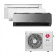 Ar Condicionado Multi Split Inverter LG  24.000 BTUS Quente/Frio 220V +1x Cassete 1 Via  9.000 BTUS +1x HW  Com Display 9.000 BTUS +1x HW  Art Cool com Display e Wi-Fi 12.000 BTUS