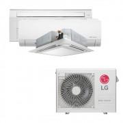 Ar Condicionado Multi Split Inverter LG 24.000 BTUS Quente/Frio 220V +1x Cassete 1 Via LG 9.000 BTUS +1x High Wall LG Com Display 9.000 BTUS +1x Cassete 4 Vias LG 18.000 BTUS