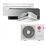 Ar Condicionado Multi Split Inverter LG  24.000 BTUS Quente/Frio 220V +1x Cassete 1 Via  9.000 BTUS +1x Cassete 4 Vias  12.000 BTUS +1x HW  Art Cool com Display e Wi-Fi 12.000 BTUS