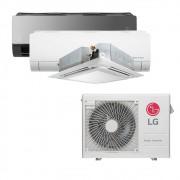 Ar Condicionado Multi Split Inverter LG  24.000 BTUS Quente/Frio 220V +1x Cassete 4 Vias  9.000 BTUS +1x HW  Com Display 9.000 BTUS +1x HW  Art Cool com Display e Wi-Fi 12.000 BTUS