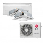 Ar Condicionado Multi Split Inverter LG 24.000 BTUS Quente/Frio 220V +1x Cassete 4 Vias LG 9.000 BTUS +1x Cassete 1 Via LG 12.000 BTUS +1x Cassete 4 Vias LG 12.000 BTUS