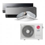 Ar Condicionado Multi Split Inverter LG  24.000 BTUS Quente/Frio 220V +1x Cassete 4 Vias  9.000 BTUS +1x HW  Art Cool 12.000 BTUS +1x HW  Art Cool com Display e Wi-Fi 12.000 BTUS